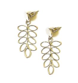 Fair Anita Fern Stud Earrings Silver