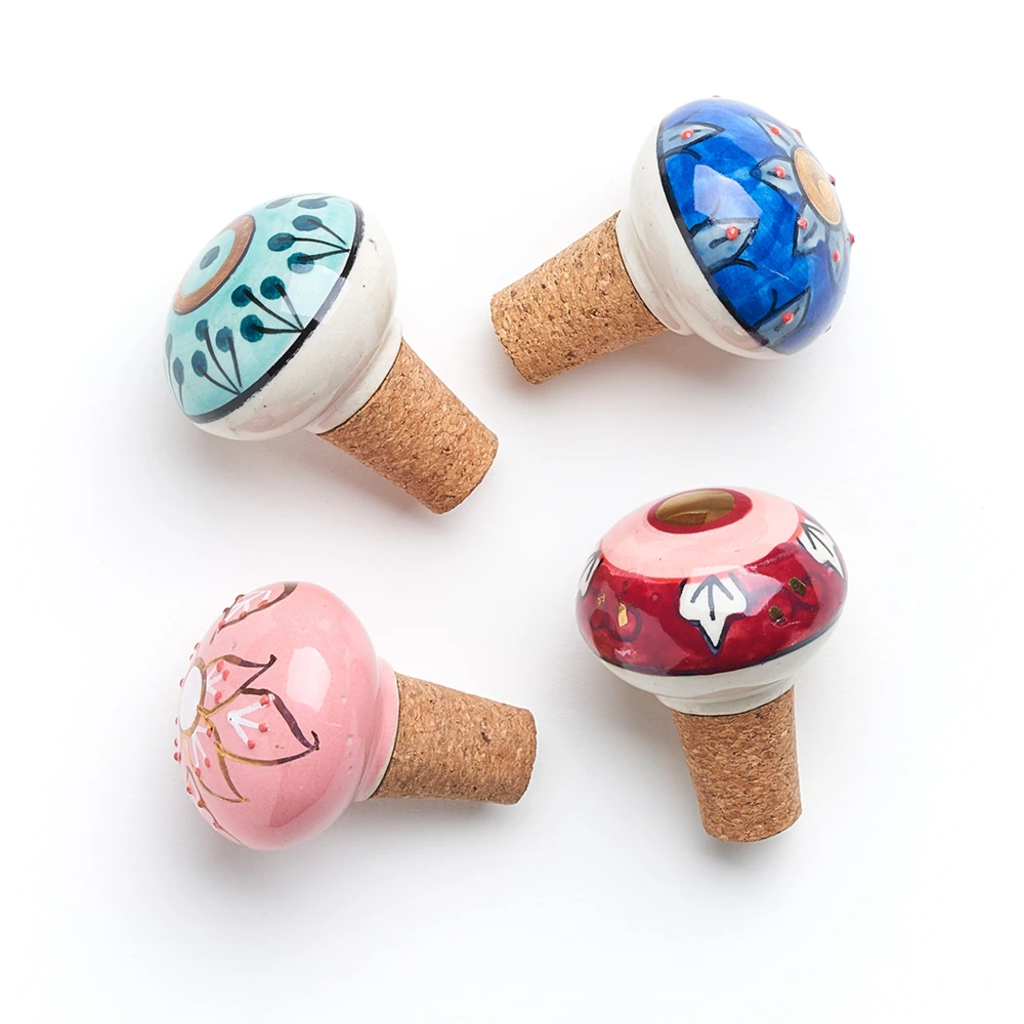 Matr Boomie Jalini Assorted Ceramic Wine Stoppers