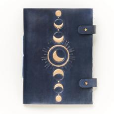 Matr Boomie Indukala Crecent Moon Leather Journal