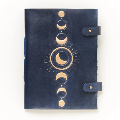 Matr Boomie Indukala Crescent Moon Leather Journal