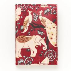 Matr Boomie Fauna Red Garden Leather Journal