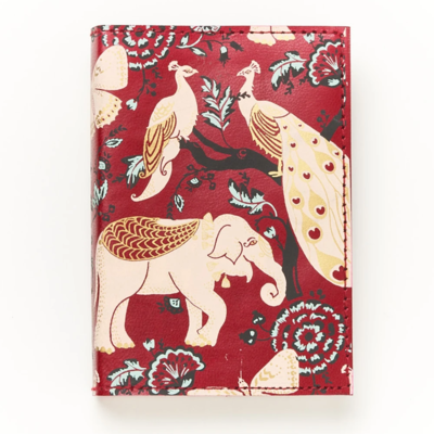 Matr Boomie Fauna Red Garden Leather Journal