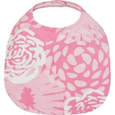 Global Mamas Organic Cotton Batik Baby Bib Garden