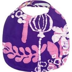 Global Mamas Organic Cotton Batik Baby Bib Marina