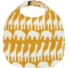 Global Mamas Organic Cotton Batik Baby Bib Sahara