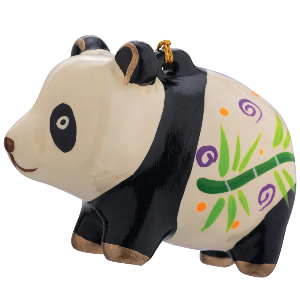 Lucuma Ceramic Panda Ornament