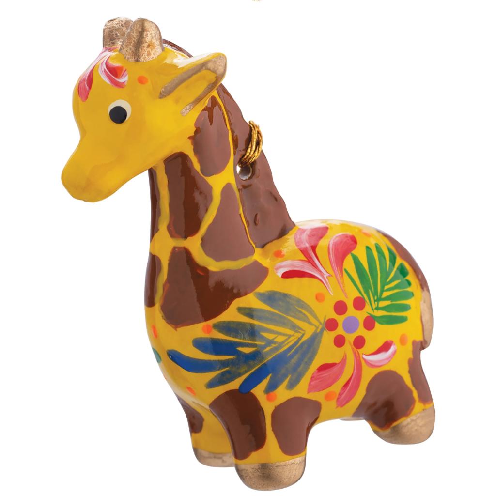 Lucuma Ceramic Giraffe Ornament