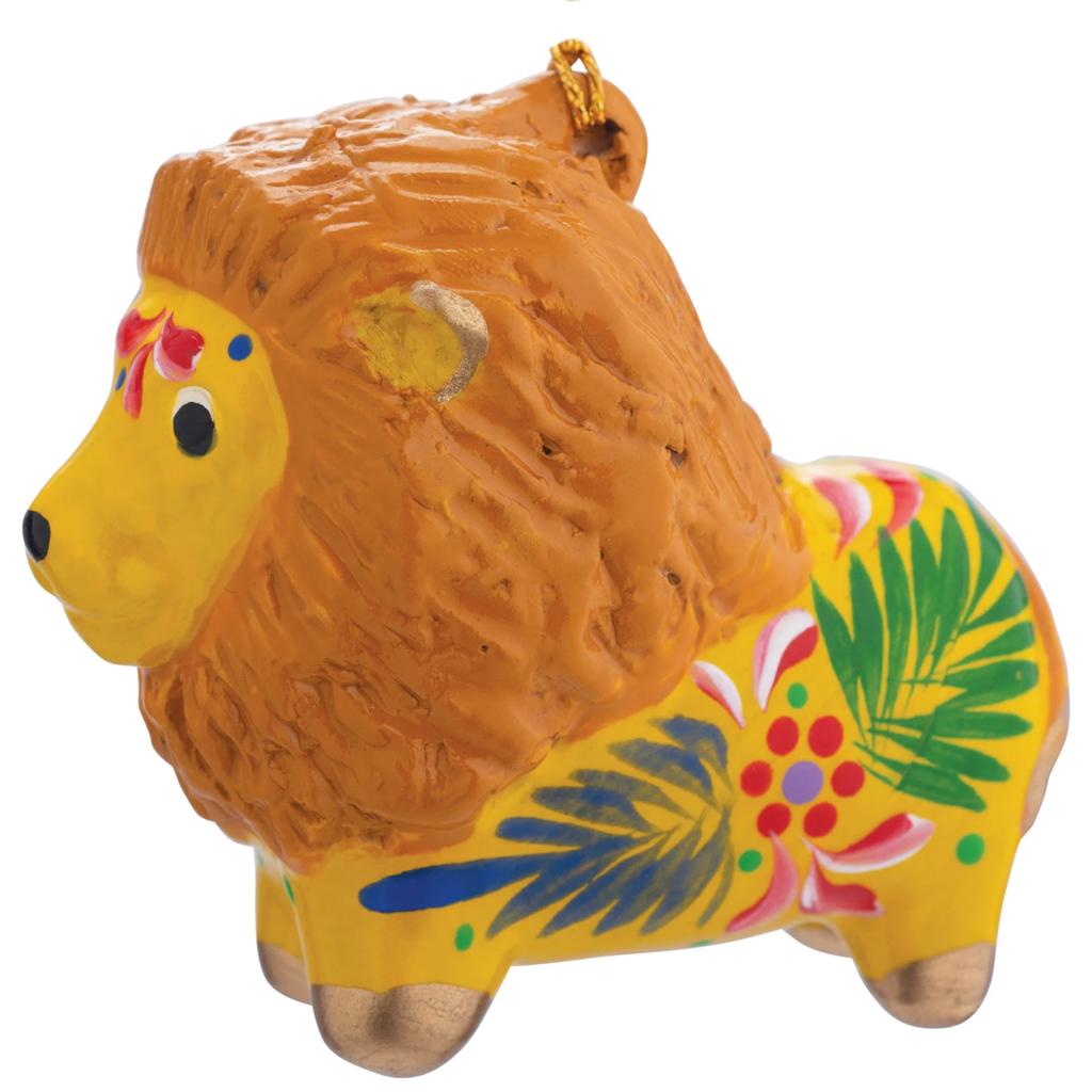 Lucuma Ceramic Lion Ornament
