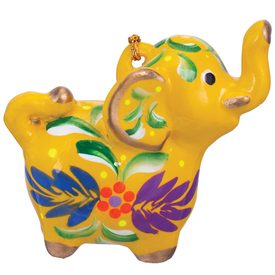 Lucuma Ceramic Elephant Ornament