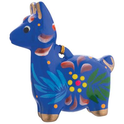 Lucuma Ceramic Llama Ornament