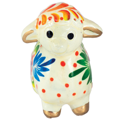 Lucuma Ceramic Sheep Ornament