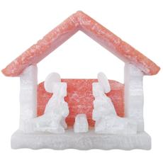 Lucuma Alabaster Mini Nativity Hut