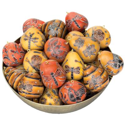Lucuma Mini Mix of Gourd Ornaments: Nature