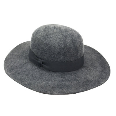Minga Imports Zoe Felted Wool Hat Black