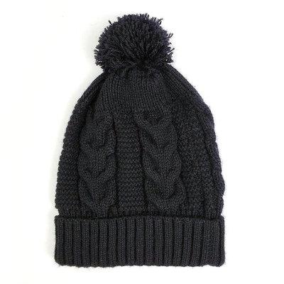 Minga Imports Harlow Knit Hat Black