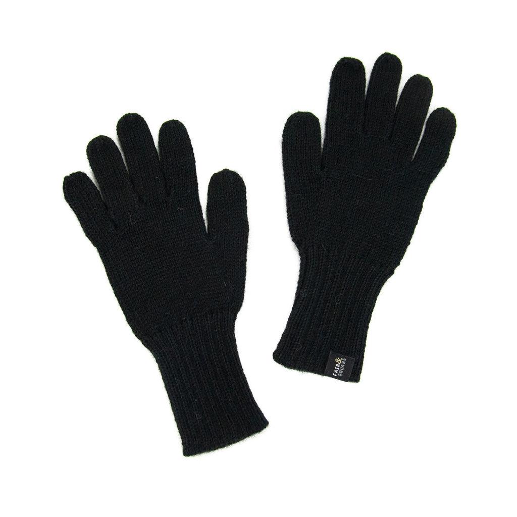 Minga Imports Gelid Alpaca Blend Gloves Black