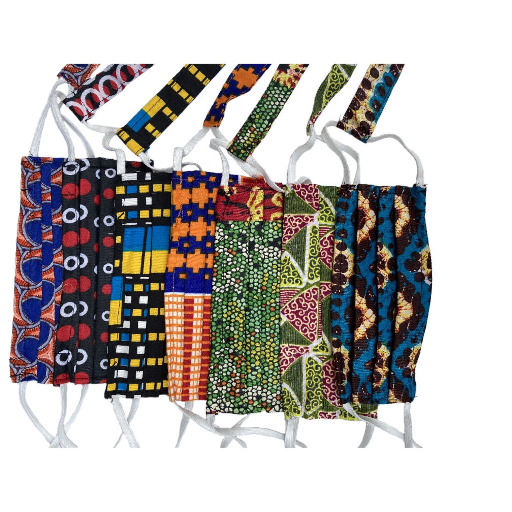 Creation Hive Kitenge Face Mask