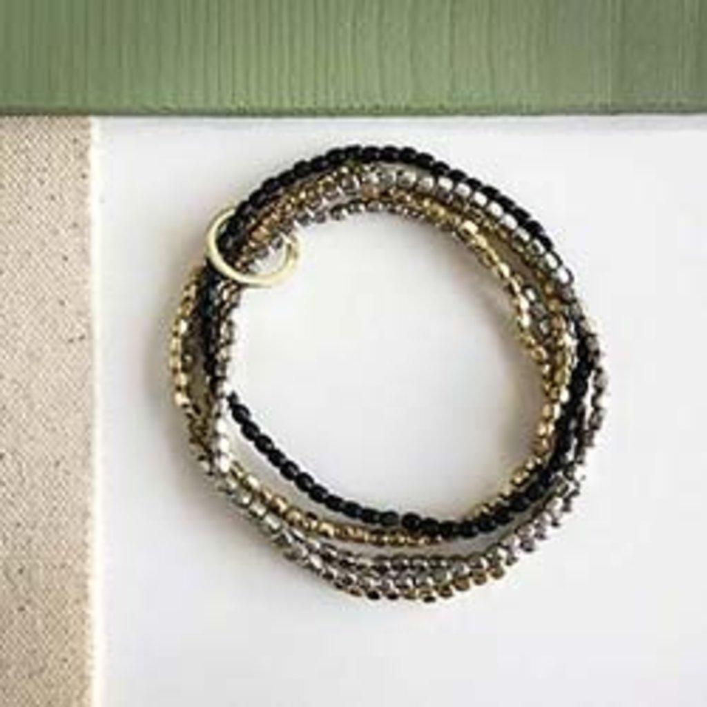 World Finds Embraced Metallics Bracelet