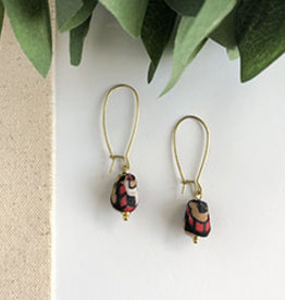 World Finds Kayda Kantha Earrings