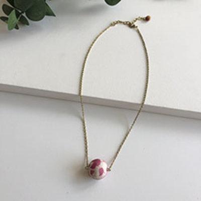 World Finds Kantha Manaka Necklace