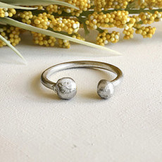 World Finds Persephone Silver Ring