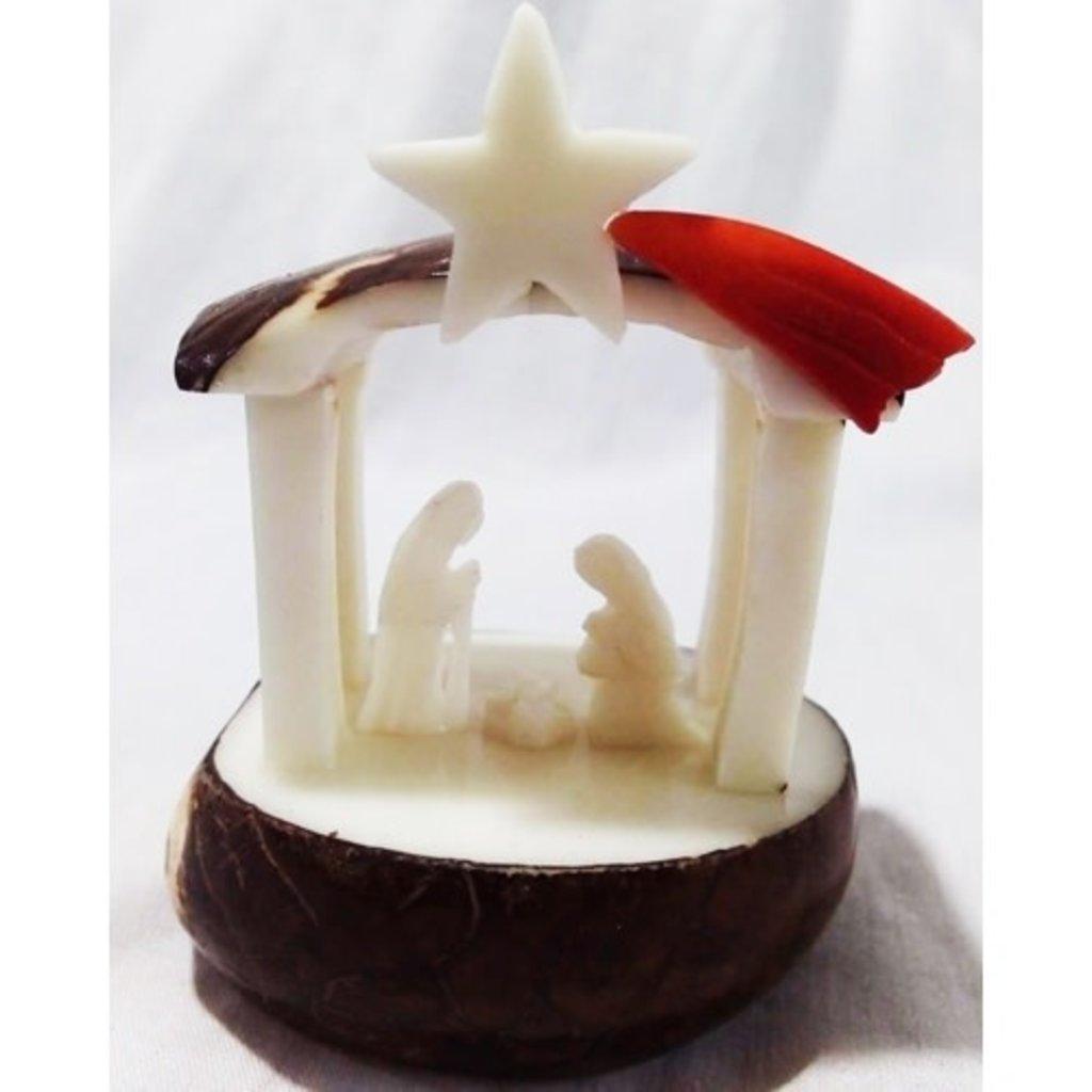 PamPeana Tagua Nativity with Star