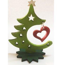 PamPeana Tagua Heart Holiday Tree