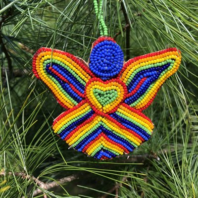 Creation Hive Beaded Love Angel Ornament