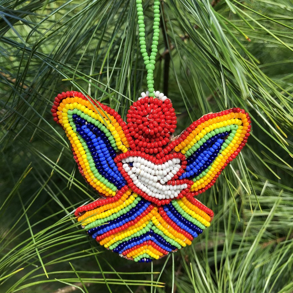 Creation Hive Beaded Hope Angel Ornament