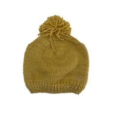 Creation Hive Prax Kenyan Merino Knit Wool Hat Gold