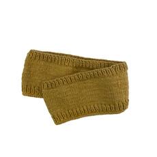 Creation Hive Prax Kenyan Merino Wool Knit Infinity Scarf Gold