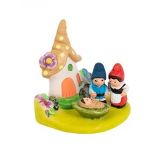 Ten Thousand Villages Gnome Ceramic Nativity
