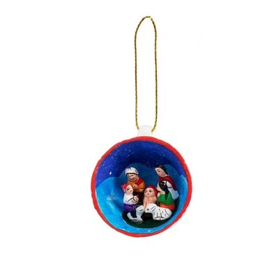 Ten Thousand Villages Starry Night Retablo Ornament