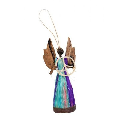 Ten Thousand Villages Angel of Peace Ornament
