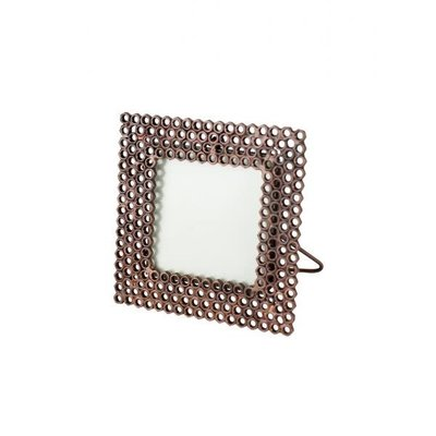 Ten Thousand Villages Hex Nut Square Photo Frame