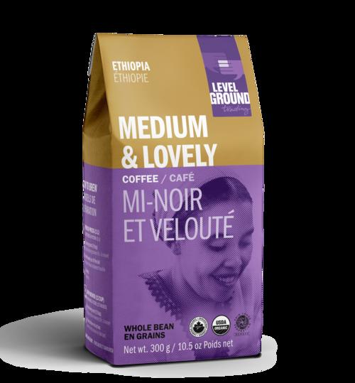 Level Ground Trading Ethiopia Whole Bean Coffee