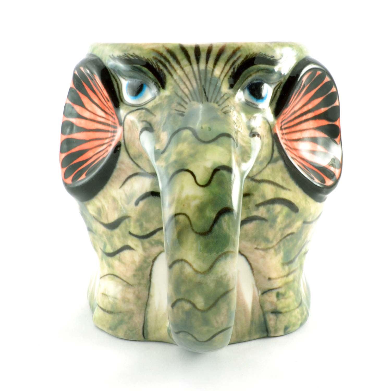 Guatemalan Pottery Elephant Mug
