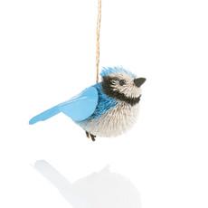Serrv Buri Bird Blue Jay Ornament