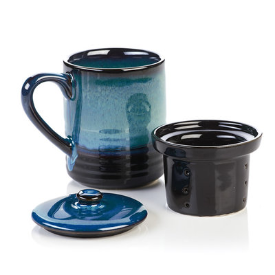 Serrv Lak Lake Tea Infuser Mug