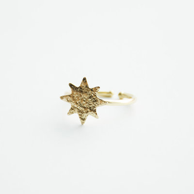 Mata Traders Austen Brass Star Ring