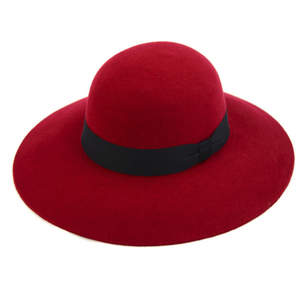 Minga Imports Zoe Felted Wool Hat Wine