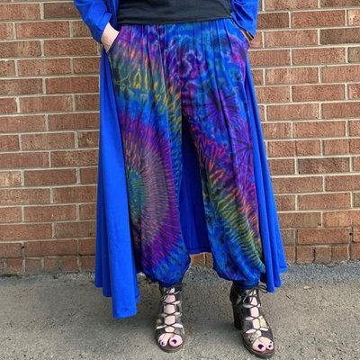 Unique Batik Jenny Tie Dye Pant: Blue