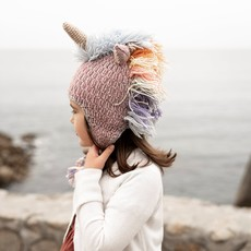 Andes Gifts Kids Animal Hat: Pastel Unicorn