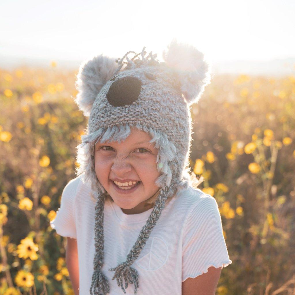 Andes Gifts Kids Animal Hat: Koala