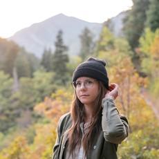 Andes Gifts Milkshake Alpaca Knit Hat: Black
