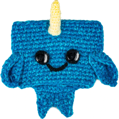 Andes Gifts Animal Cup Cozies: Narwhal