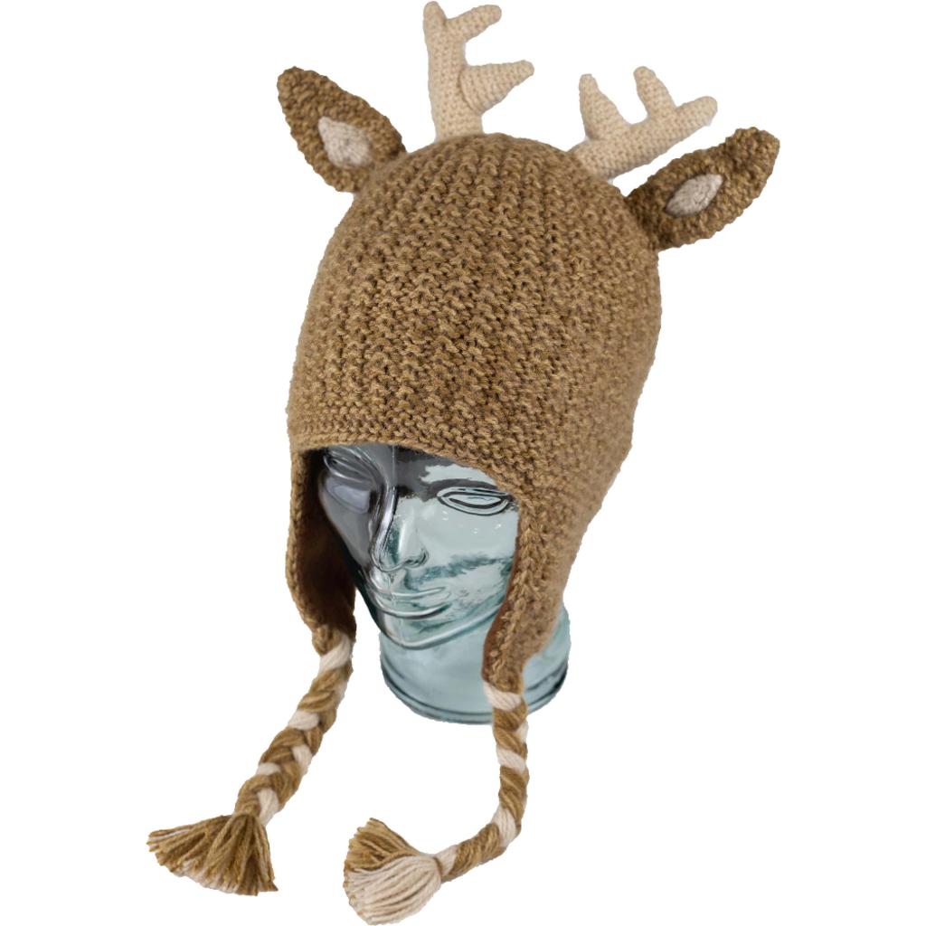 Andes Gifts Adult Animal Hat: Deer
