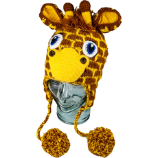 Andes Gifts Kids Animal Hat: Giraffe