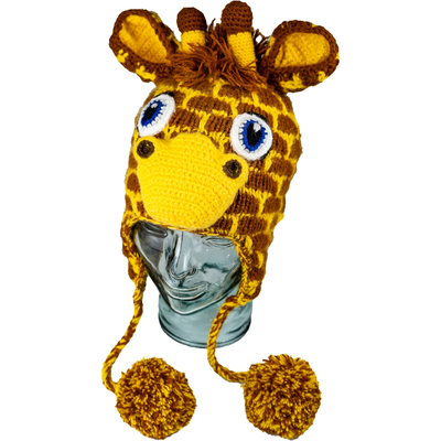 Andes Gifts Kids Animal Hat: Giraffe