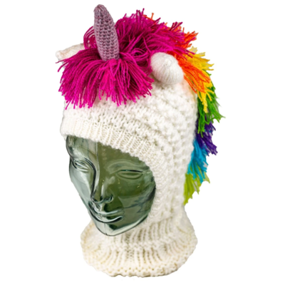 Andes Gifts Kids Animal Hood: Unicorn